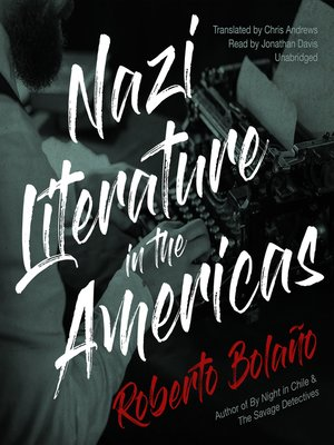cover image of Nazi Literature in the Americas