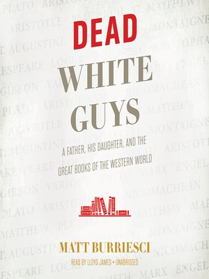 cover image of Dead White Guys
