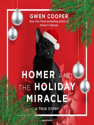 cover image of Homer and the Holiday Miracle