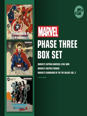 cover image of Marvel's Phase Three Box Set