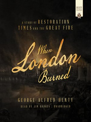 cover image of When London Burned