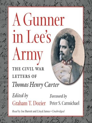 cover image of A Gunner in Lee's Army