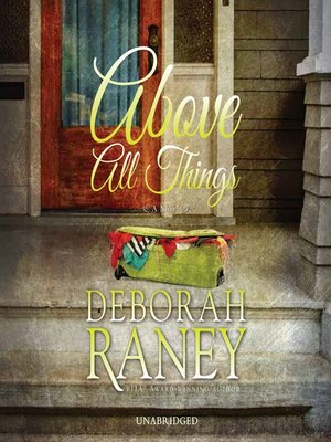 cover image of Above All Things