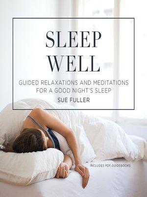 cover image of Sleep Well