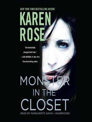 cover image of Monster in the Closet