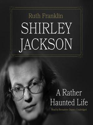 cover image of Shirley Jackson