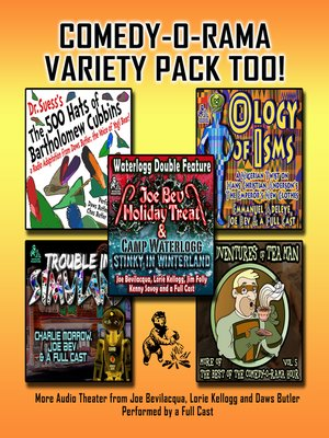 cover image of Comedy-O-Rama Variety Pack Too!