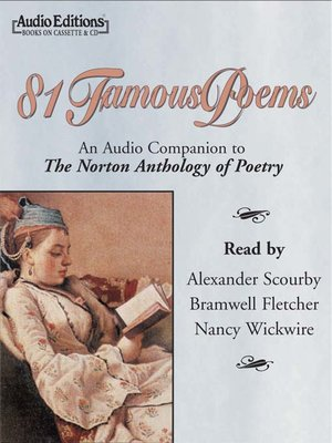 cover image of 81 Famous Poems