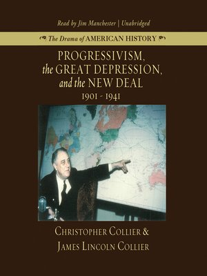 cover image of Progressivism, the Great Depression, and the New Deal