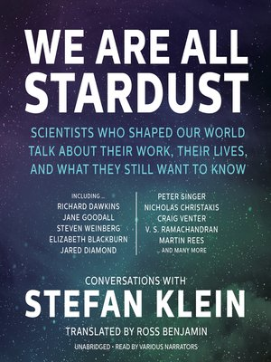 cover image of We Are All Stardust