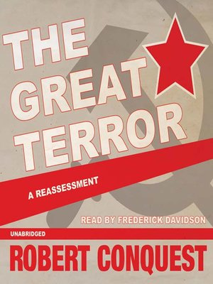 cover image of The Great Terror