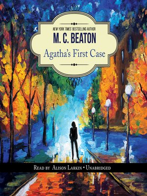 cover image of Agatha's First Case