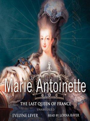 cover image of Marie Antoinette
