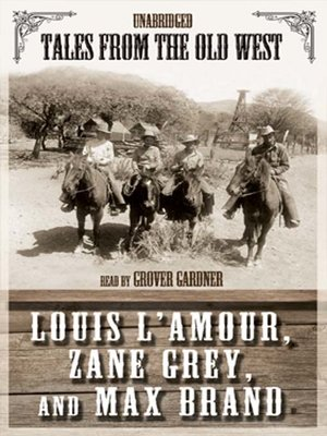 cover image of Tales from the Old West, Volume 1