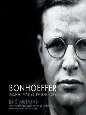 cover image of Bonhoeffer