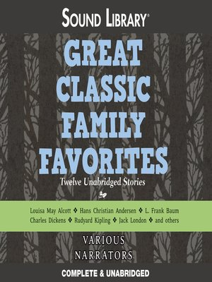 cover image of Great Classic Family Favorites