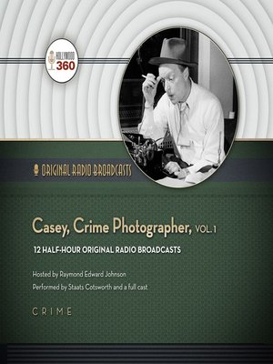 cover image of Casey, Crime Photographer, Volume 1