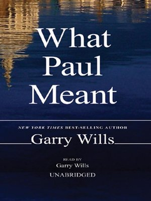 cover image of What Paul Meant