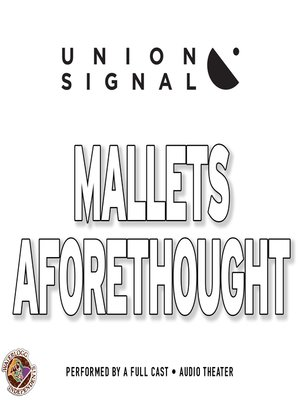 cover image of Mallets Aforethought