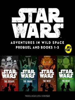 cover image of Star Wars Adventures in Wild Space, Books 1-3
