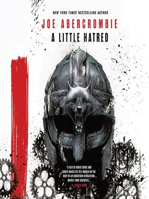 cover image of A Little Hatred