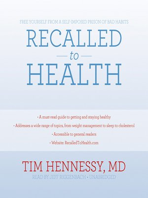cover image of Recalled to Health