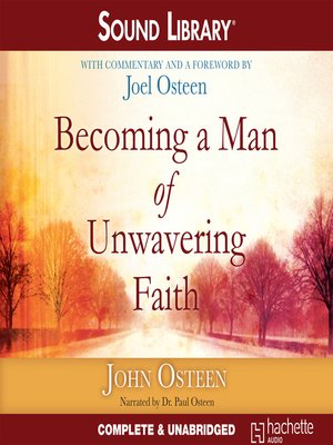 cover image of Becoming a Man of Unwavering Faith