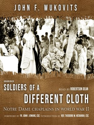 cover image of Soldiers of a Different Cloth