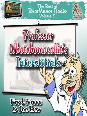 cover image of Professor Whatchamacallit's Interstitials