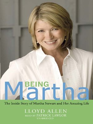 cover image of Being Martha