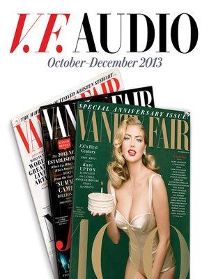 cover image of Vanity Fair: Sept-Nov 2013 Issue