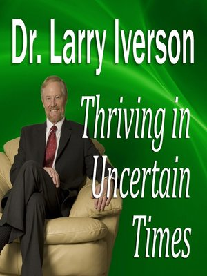cover image of Thriving in Uncertain Times