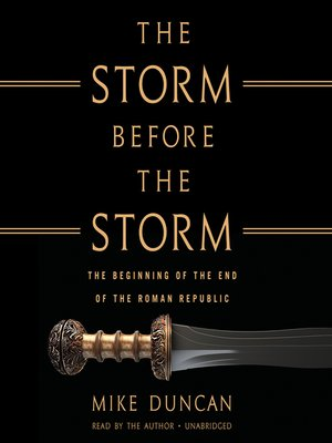 cover image of The Storm before the Storm