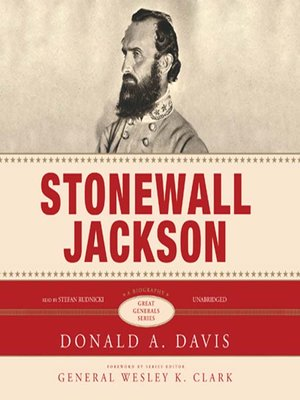 cover image of Stonewall Jackson