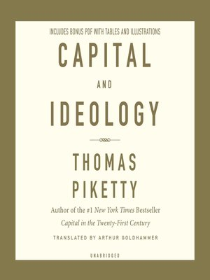 cover image of Capital and Ideology