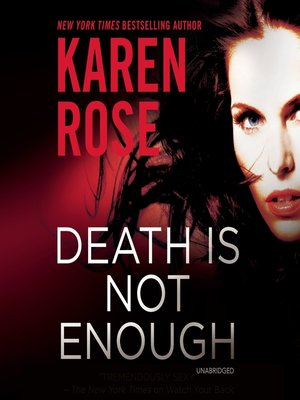 cover image of Death is Not Enough
