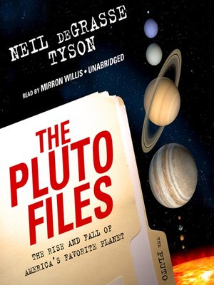 cover image of The Pluto Files