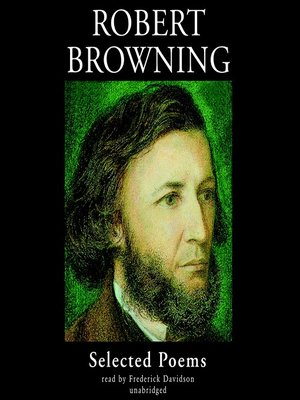 cover image of Robert Browning