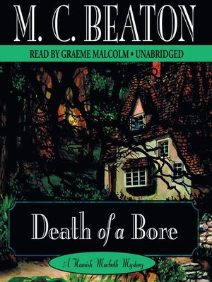 cover image of Death of a Bore