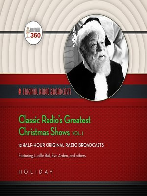 cover image of Classic Radio's Greatest Christmas Shows, Volume 1