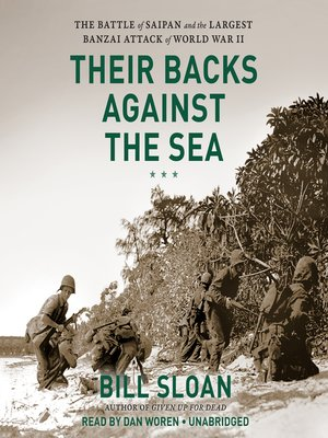 cover image of Their Backs against the Sea