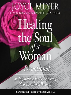 cover image of Healing the Soul of a Woman Devotional