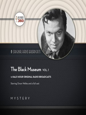 cover image of The Black Museum, Volume 1