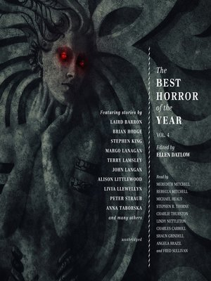 cover image of The Best Horror of the Year, Volume 4