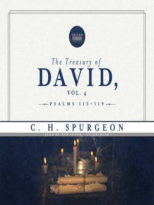 cover image of The Treasury of David, Volume 4