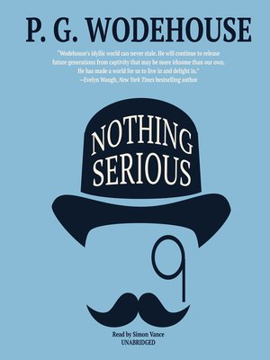 cover image of Nothing Serious