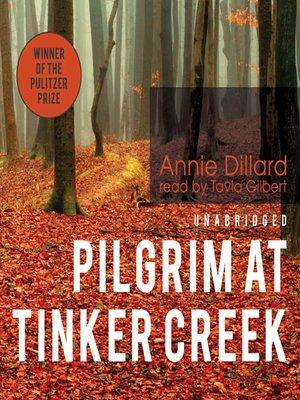 cover image of Pilgrim at Tinker Creek