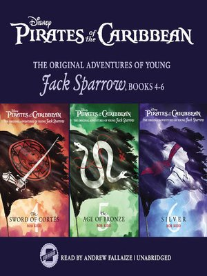 cover image of Pirates of the Caribbean: Jack Sparrow Books 4-6