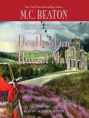 cover image of Death of an Honest Man