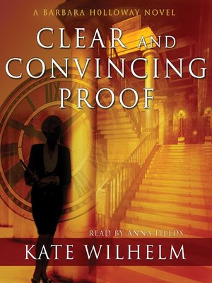 cover image of Clear and Convincing Proof
